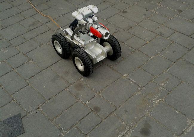 Ρομποτικός έλεγχος στεγανότητας αγωγών αποχέτευσης